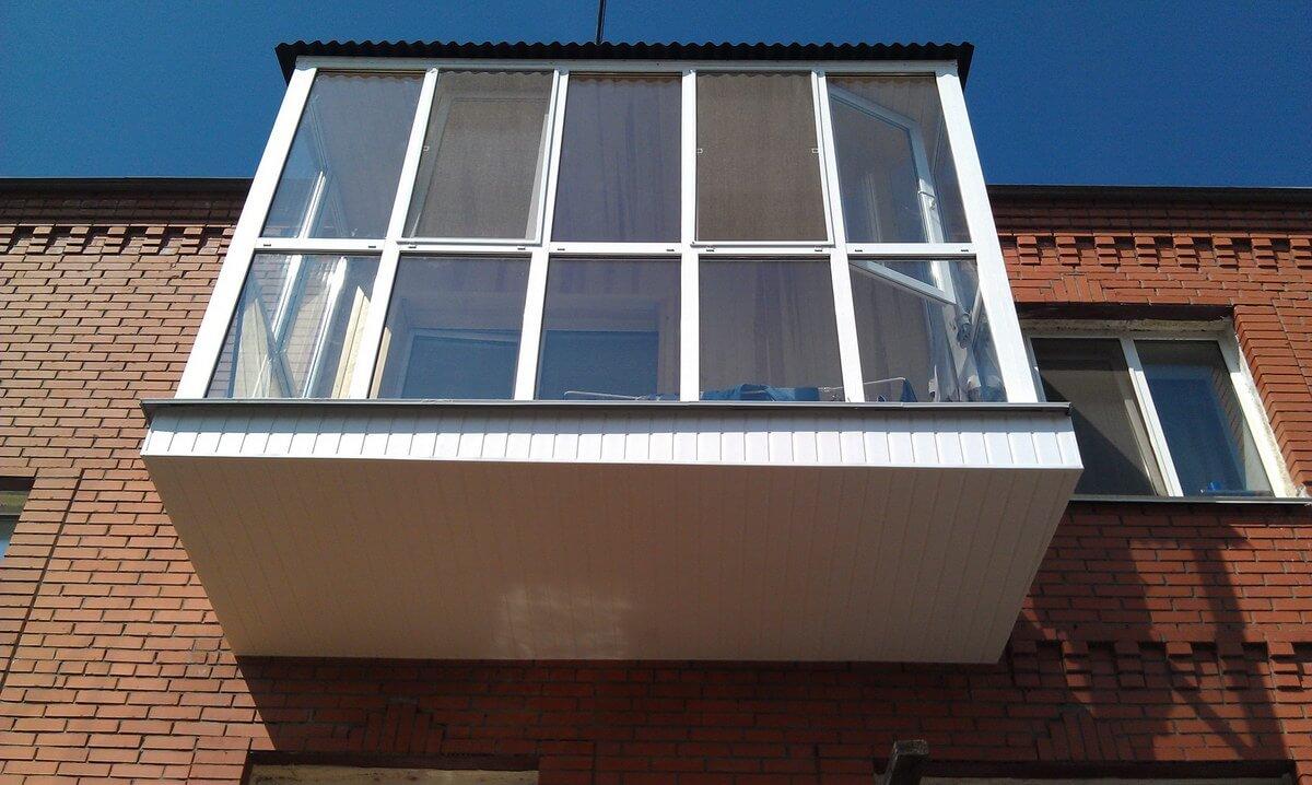 Отделка внешней стороны балкона - балконский - балконы и лод.