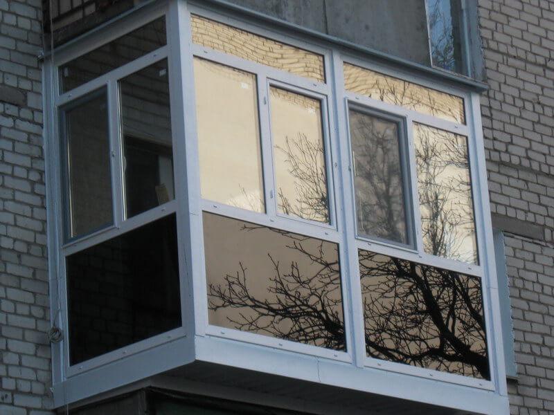 Тонировка стекол балкона своими руками 18