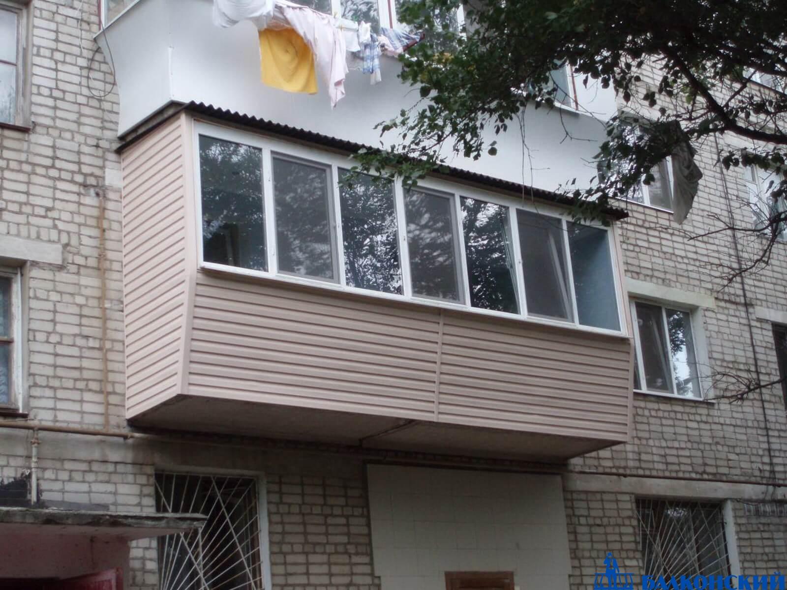 Сложные сварочные работы новых балконных модулей - балконски.