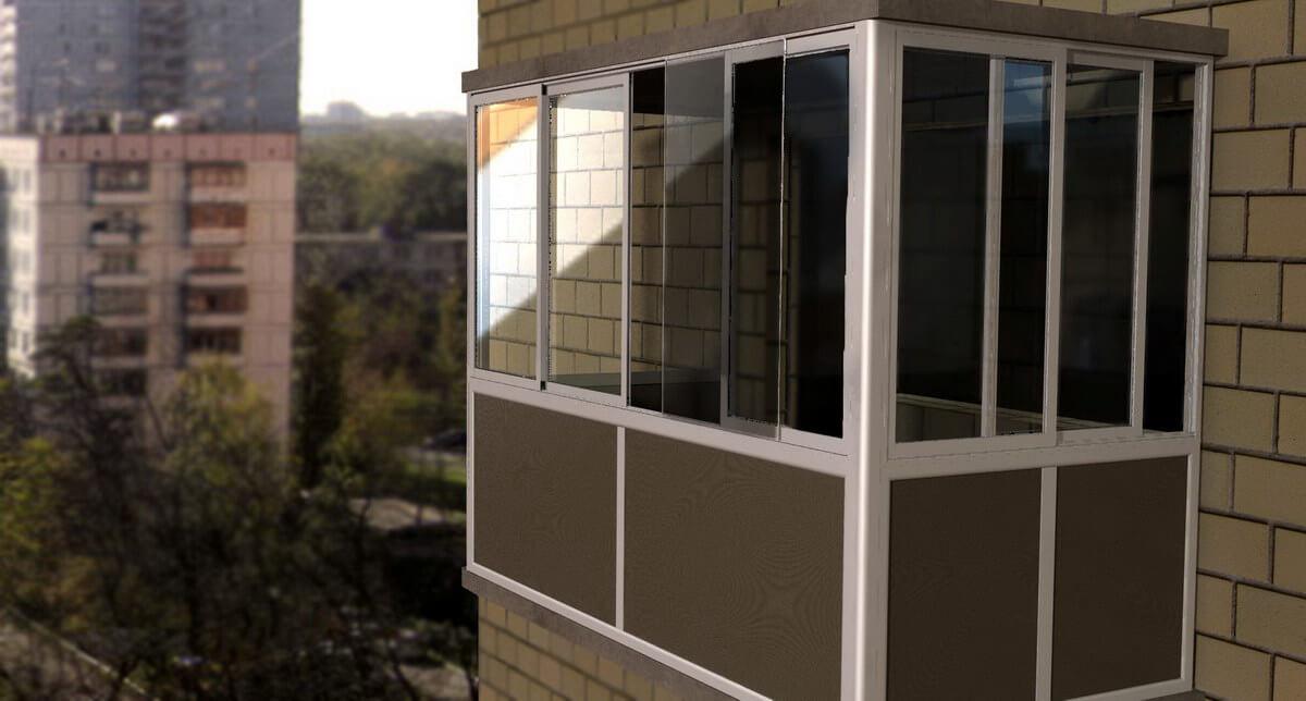 """Балконная рама цена - строительная компания """"тепло и уют в в."""