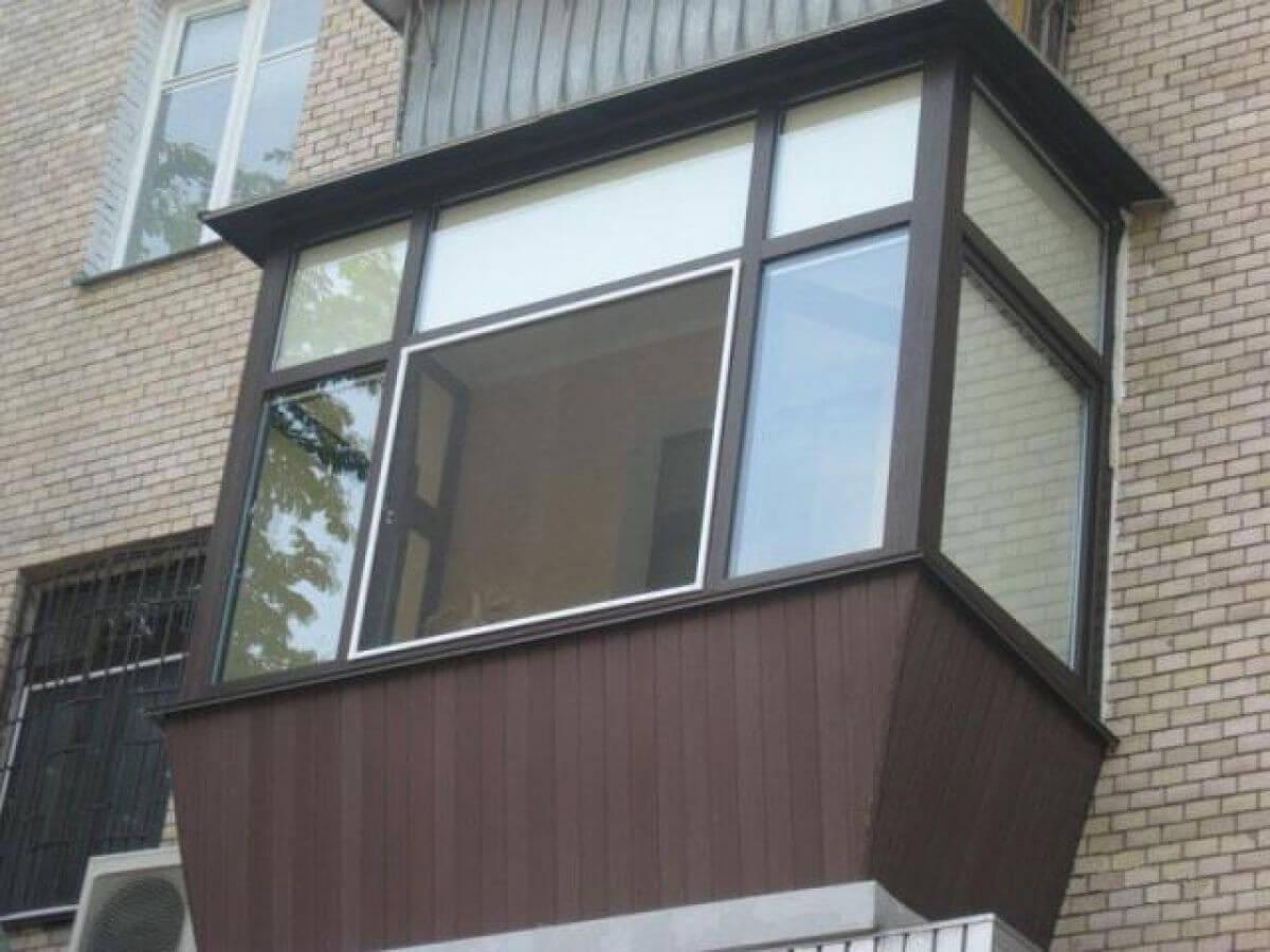 Остекление балконов застеклить лоджию в муроме - компания ре.